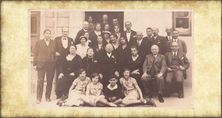 Further Extended Jellinek Family 1933 Group Photo, II